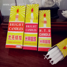 2018 hot sale white candles to Ghana