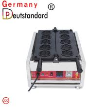 Digital cherry blossom waffle machine with CE
