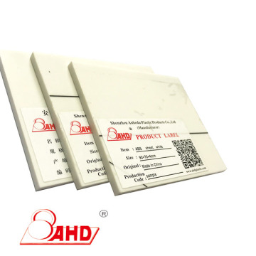 FR-ABS Sheet High Heat Resistance Thickness 3-100mm