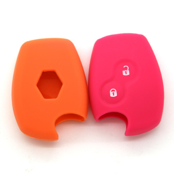 Renault silicone case 2 buttons remote key cover