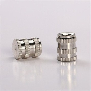 M8 Nickel Plated High Quality Brass Insert Nut