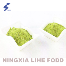 Cheapest Factory for Dehydrated Dried Leek Leek green powder 60-120mesh air dried export to Yugoslavia Suppliers