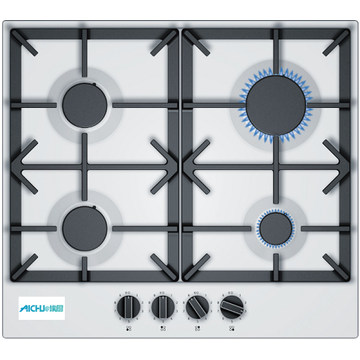 Neff White Gas Hob Gas Cookers