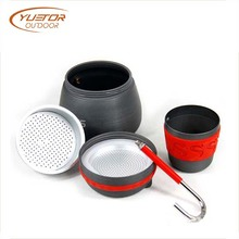 2 Cups Portable Splitting Percolator Coffee Maker