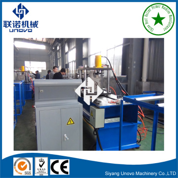 cold roll forming C section unistrut channel roll forming machine