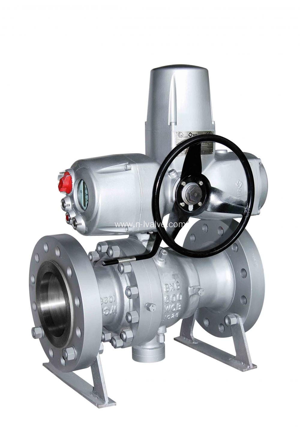 Electric Operated Trunnion Ball Valve