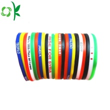 Good Quality for Printed Silicone Bracelets Promotional Custom Brand Fashion Sport Silicone Bracelet supply to Netherlands Suppliers