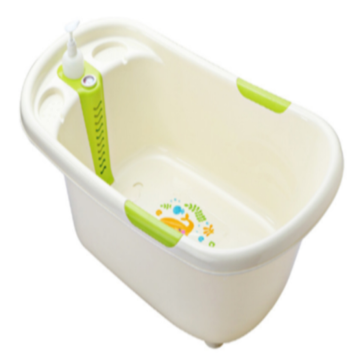 Baby Plastic Bathtub With Thermometer Baby Product