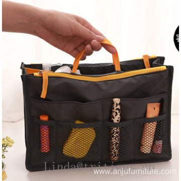 High quality travel makeup organizer cosmetic toiletry bag