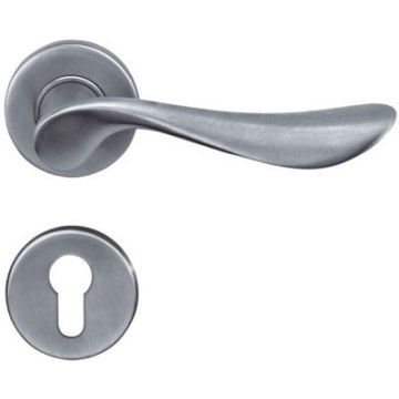 Polished Steel Door Handle