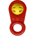 A0608 Baby safety hand ring shaking bell