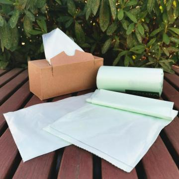 100% Biodegradabeplastic Compostable Garbage Plastic Bag