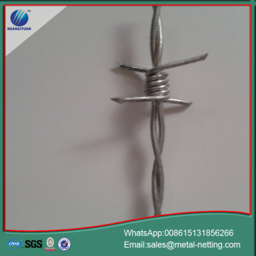 barbed wire galvanized barb wire