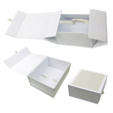 NEW-Luxury Hard Cardboard Gift Packaging Box with logo