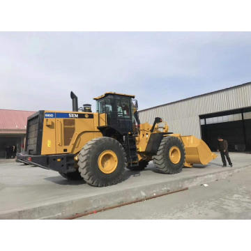 SEM Wheel Loaders SEM680D 8tons Steel Mill Construction Building Mining Machinery with Low Price