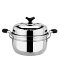 22 -24cm Single Layer Stainless Steel Steamer Pot