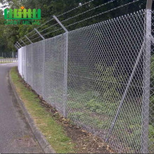 igh Quality Galvanized or pvc Chain Link Fence