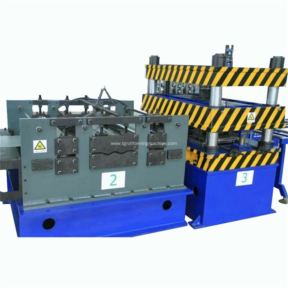 Steel Channel Cable Tray Making Machine