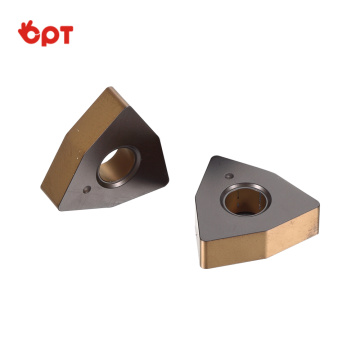 OPT Tungsten carbide external turning inserts WNMA080408