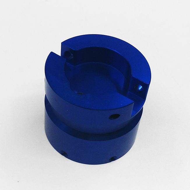 CNC machining aluminum parts with Anodize