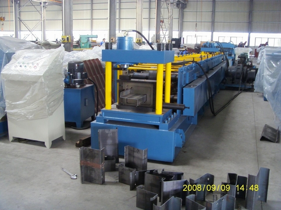 building material z purlin steel machine