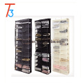 26 Pocket Non-woven Black Cream Over the Door Hanging Shoe Organizer