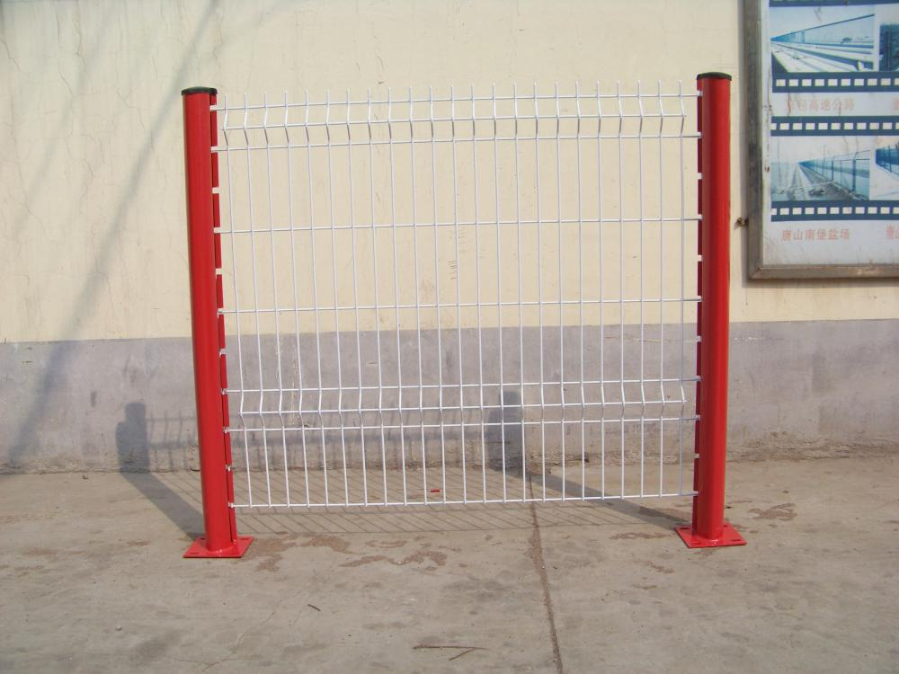 Easily Assembled PVC Coated Welded  Fence Panel