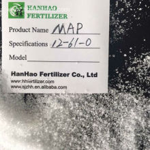 Excellent quality price for China Phosphate Fertilizer,Mono Potassium Phosphate Fertilizer,Mono Ammonium Phosphate Supplier Mono Ammonium Phosphate MAP 12-61 fertilizer export to Thailand Manufacturer