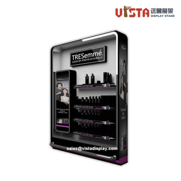 High Quality Luxury Cosmetics Slat-wall Display Stands