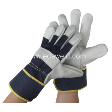 High Temperature Resistant Cowhide Welding Gloves