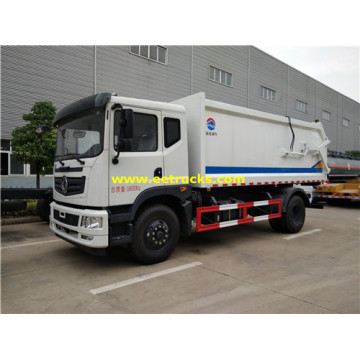 4x2 210HP 10cbm Rubbish Compactor Trucks