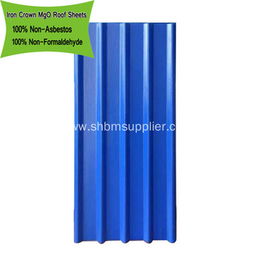 Anti-moss Ecological Anti-UV PET MgO Roofing Sheets