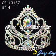 New Design Pageant Crown AB Crystal Crown
