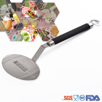 America football turners BBQ tool spatula