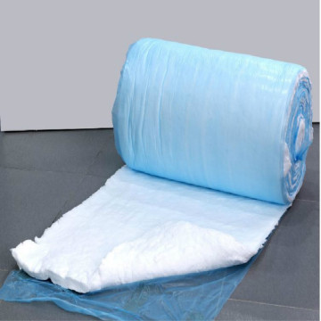 Glass wool blanket for under deck insulation