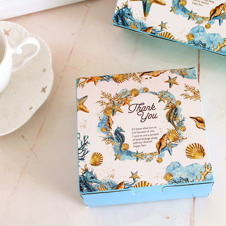 Flip-top Packaging Box for Biscuit Wholesale