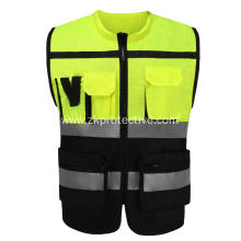Hot sell CE standard EN 20471 reflective jacket