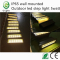 IP65 wall mounted outdoor led step light 5watt