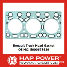 Factory Supplier for China Head Gasket,Metal Head Gasket,Cylinder Head Gasket,Engine Head Gasket,Tractor Head Gasket Manufacturer Renault Truck Head Gasket 5000678639 export to Liechtenstein Supplier