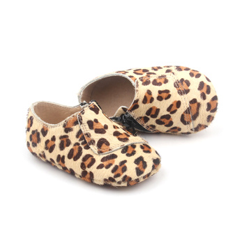 Factory Design Leather Baby Girl Casual Shoes