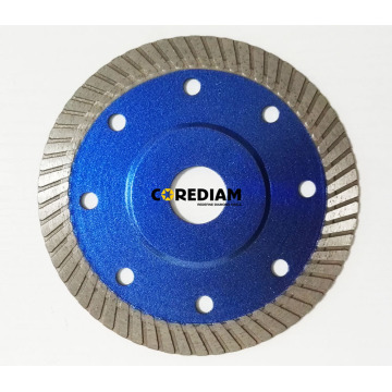China for China Diamond Saw Blades, Continuous Rim Blade 115mm Sintered Continous Rim Blade supply to Somalia Manufacturer
