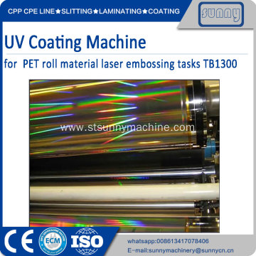 3D Holographic film coating machine