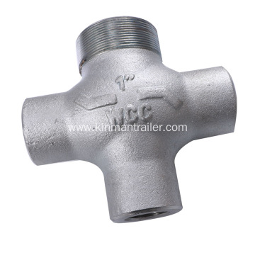 Cross Joint Pipe Fitting For Oil