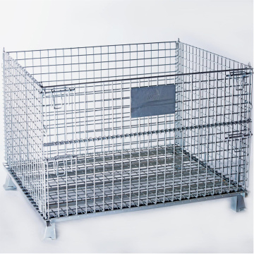 High Strength Steel Wire Pallet Cage