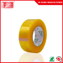 Low Cost for Yellowish Clear Tape Yellowish Bopp Film Adhesive Banding Packing Tape supply to Tonga Manufacturers
