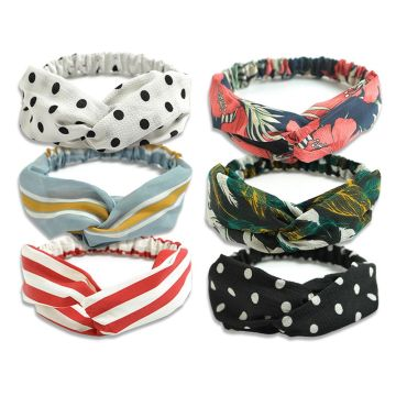 Good Quality for Face Washing Hair Band YouGa Vintage Headbands Women Elastic Headbands 6Packs export to Armenia Supplier