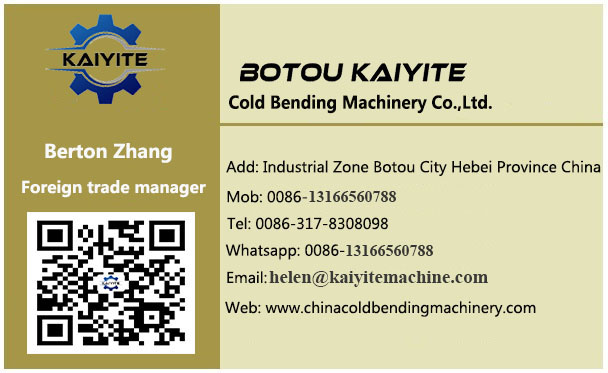 Contact Us Of Roll Forming Machine