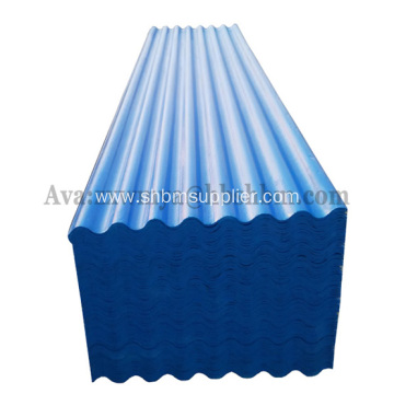Acid&Alkali Resistant UV-Blocking PET-Film MgO Roof Sheets