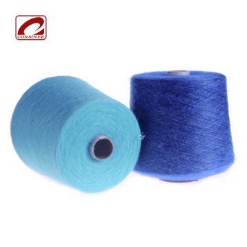Topline 12.5nm elastic mohair wool blend yarn
