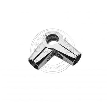16mm chrome pipe connector
